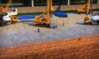 桥梁建筑施工三维动画视频