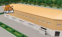 钢结构房产-三维动画视频
